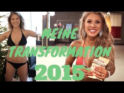 MEINE TRANSFORMATION 2015 | Transformation female body