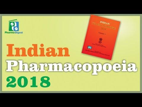 Indian Pharmacopoeia 2018 Glimpse