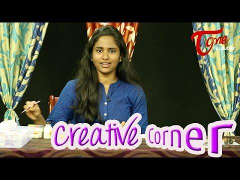 Learn How To Color Terracotta Jewellery | Creative Corner | TeluguOne