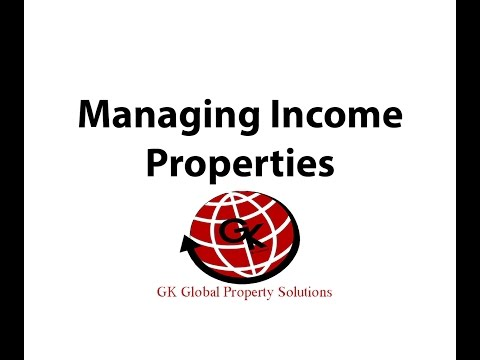 Managing Income Properties