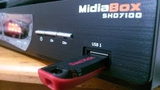 TUTORIAL COMO ATUALIZAR O MIDIA BOX CENTURY MODELO SHD7100 COMPLETO