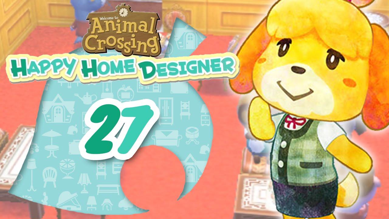Let 39 S Play Animal Crossing Happy Home Designer Fr Jour 27 G N Rique De Fin Youtube