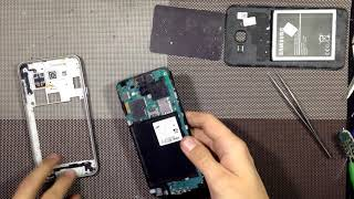 Samsung Galaxy J7 J700H/DS does not charging, how to take apart, resolder usb connector