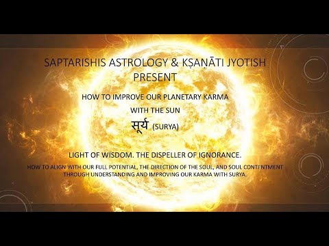 How To Improve Our Planetary Karma With The Sun