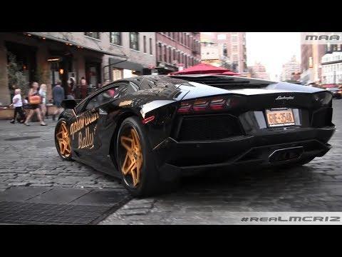 STUNNING Lamborghini Aventador LP 700-4 - NYC