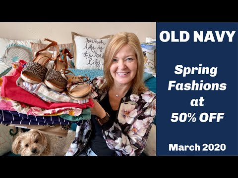 Old Navy | March 2020 | Spring Sale | Beautiful Budget Friendly Styles!