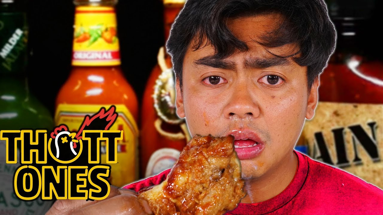 I Tried The Hot Ones Challenge ~ First We Feast