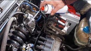 Balata Spreyi İle Emme Manifoldu, Maf Sensörü, Gaz Kelebeği Temizliği Nasıl Yapılır; Fiat Benzinli