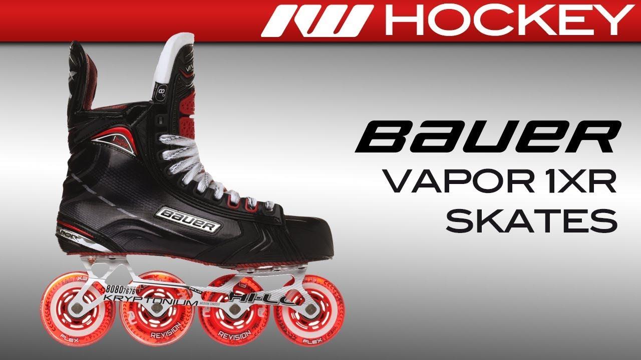 9b338922845 2017 Bauer Vapor 1XR Skate Review - YouTube