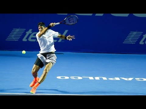 Watch Great Sportsmanship From Del Potro And Tiafoe At Acapulco 2017