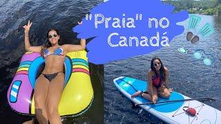 Praia no Canadá?