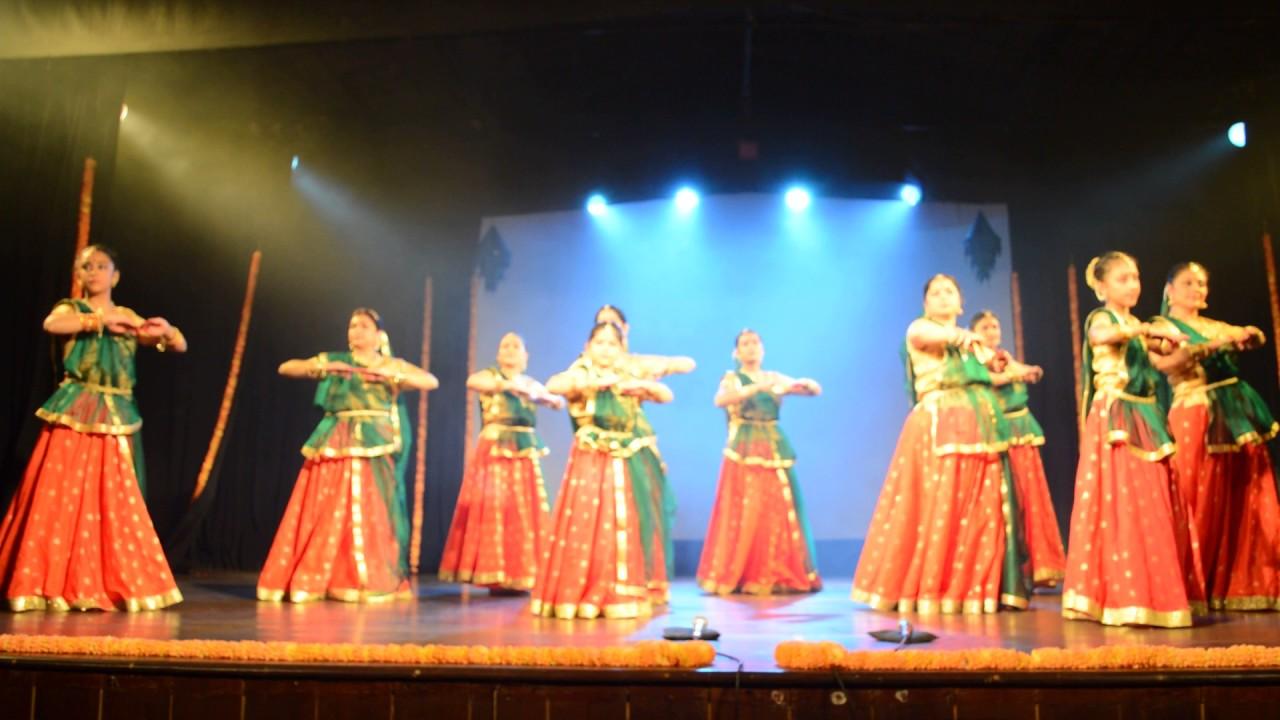Annual Day Kathak Dance @ Seva Sadan, Malleshwaram, Bangalore 8th Jan 2017