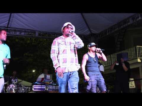 Lord Tariq Peter Gunz Deja Vu  (Uptown Baby) Live Performance 2016