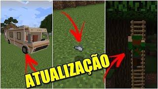 3 COISAS QUE SERÃO ADICIONADAS NA NOVA ATUALIZAÇÃO DO MINECRAFT POCKET EDITION !!