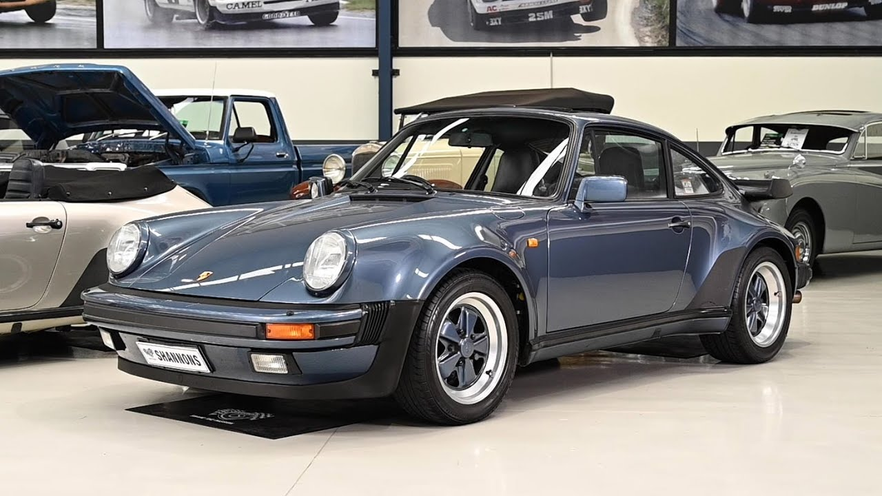 1989 Porsche 930 Turbo '5-Speed' Coupe - 2019 Shannons Melbourne Autumn Classic Auction