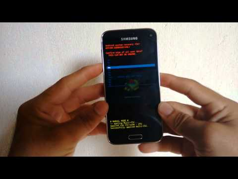 Hard Reset no Samsung Galaxy S5 mini (SM-G800H) #UTICell