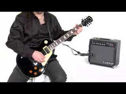 epiphone electric guitar amp pack video online commercial youtube