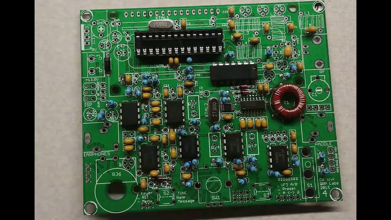 AE5X: The self-building version of the QCX transceiver kit