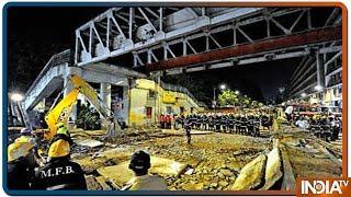 Mumbai CST station bridge collapse: At least 5 Killed, 34 injured