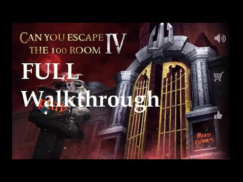 Can You Escape The 100 Room 4 walkthrough FULL..