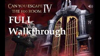 can You Escape The 100 Room 4 walkthrough FULL