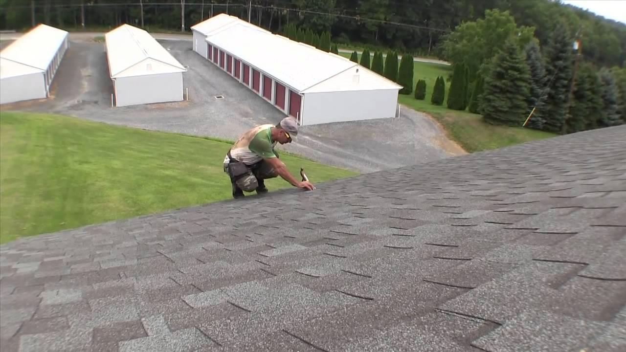 Man Falls Off Roof Youtube