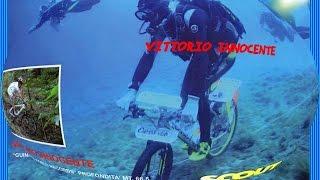 Guinness World Record Underwater Bike