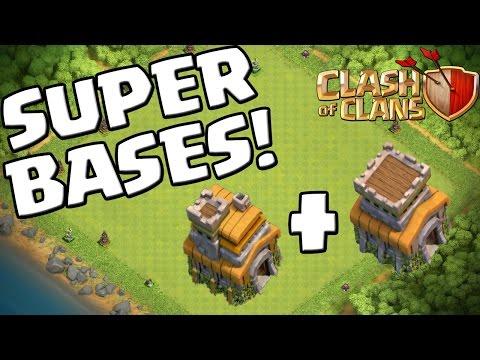 SUPER BASES - RATHAUS 7 & 8! || CLASH OF CLANS || Let's Play CoC [Deutsch/German HD+