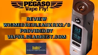 Review Wismec RX 2/3 + Video Manual