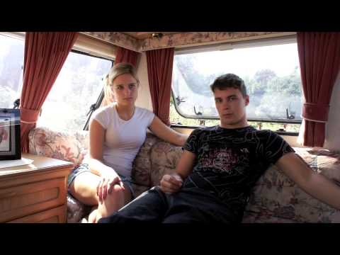 Romani Gypsies Nathan + Shannon, Waterloo Site, Pembroke Dock