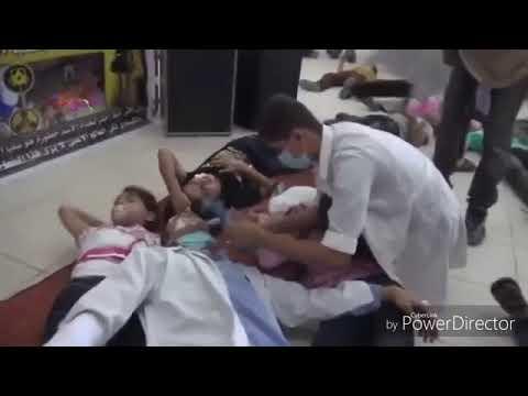 Syria chemical attack false flag!!