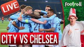 ALE RZEŹ - 4:0 w 25 minucie! Manchester City vs Chelsea FC (bez widoku meczu) #PremierLeague - Na żywo
