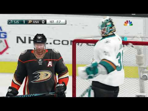 NHL 18 Stanley Cup Play0ffs Game 1 San Jose Sharks vs Anaheim Ducks 04 12 2018