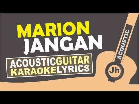 Marion Jola - Jangan ft. Rayi Putra (Karaoke Acoustic)
