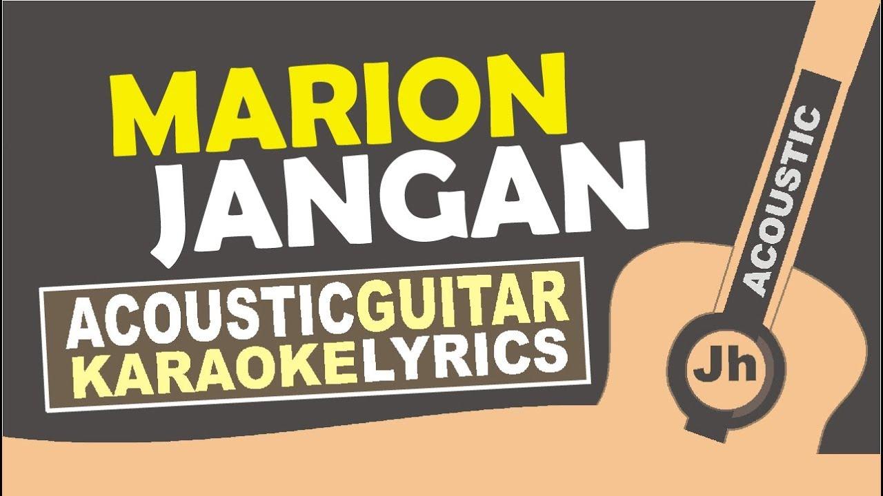 Marion Jola: Jangan Ft. Rayi Putra (Karaoke Acoustic