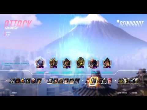 Overwatch Competitive Stream 1
