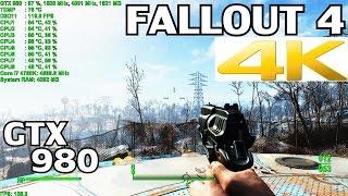 Fallout 4 ▶️ PC Ultra Settings 4K | GTX 980 & i7 4790K