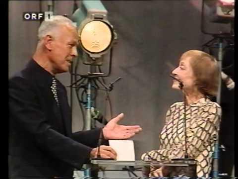 Luise Rainer - bei der Rosenhügelgala in Wien 1992