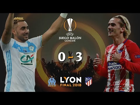 OLYMPIQUE DE MARSELLA v ATLÉTICO DE MADRID | Final Europa League 2018 | Narrando/comentando