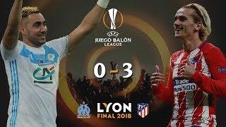 Download Video OLYMPIQUE DE MARSELLA v ATLÉTICO DE MADRID | Final Europa League 2018 | Narrando/comentando MP3 3GP MP4
