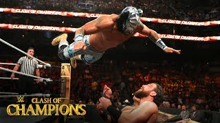 Lince Dorado takes to the air against Drew Gulak and Humberto Carrillo: Clash of Champions 2019