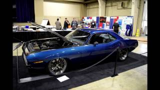 1970 Plymouth Hemi  'Cuda by Speedkore at the Grand National Roadster Show 2017 Muscle Cars