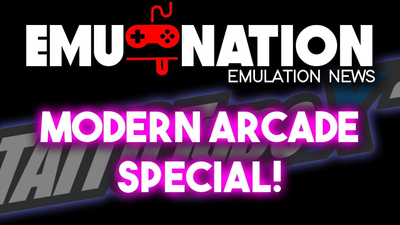 EMU-NATION: Latest Arcade Games Dumped for us to Play on PC!