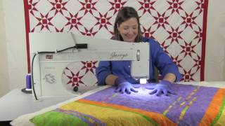 George sit-down quilting machine from APQS