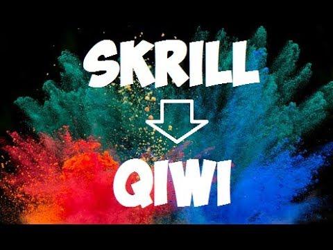 Как обменять Скрилл на Киви (Skrill на Qiwi)