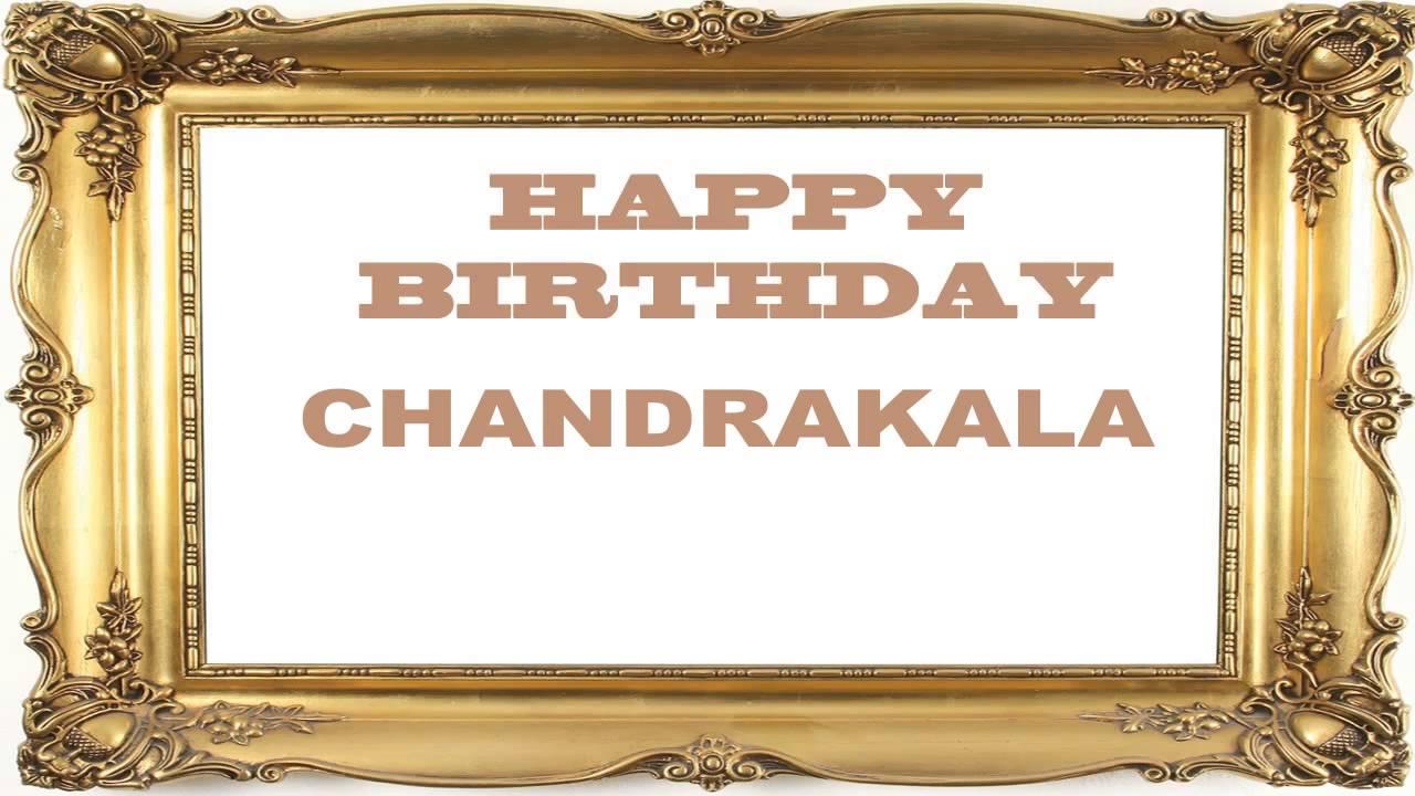 with name chandrakala