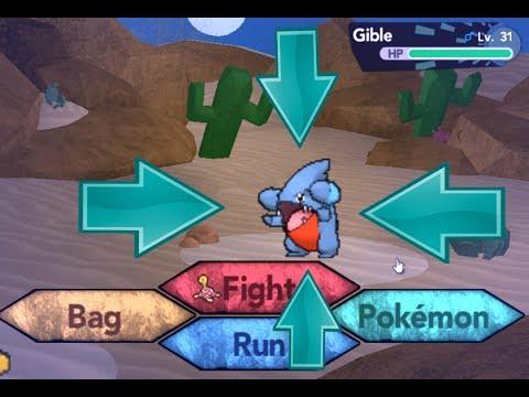 Como Capturar a Gible en Pokemon Brick Bronze