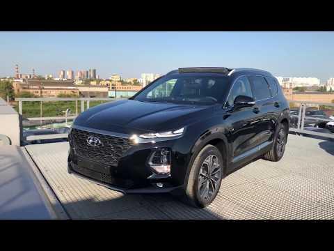 Tоповая комплектация Hyundai Santa Fe 2018