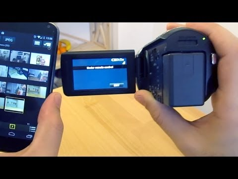 How To Connect Smartphone (android Or Iphone) With Panasonic Camera Via WiFi