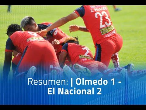 Olmedo El Nacional Goals And Highlights